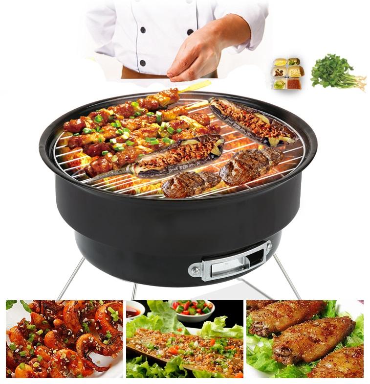 Bếp nướng than hoa không khói portable barbecue