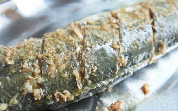 cá nướng riềng sả