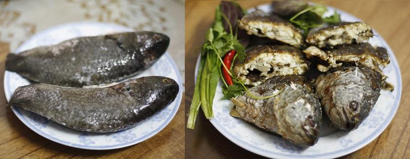 cá rô đồng nướng