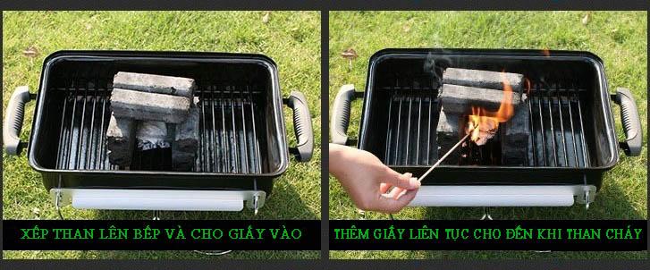 hướng dẫn cách nhóm than sạch không khói