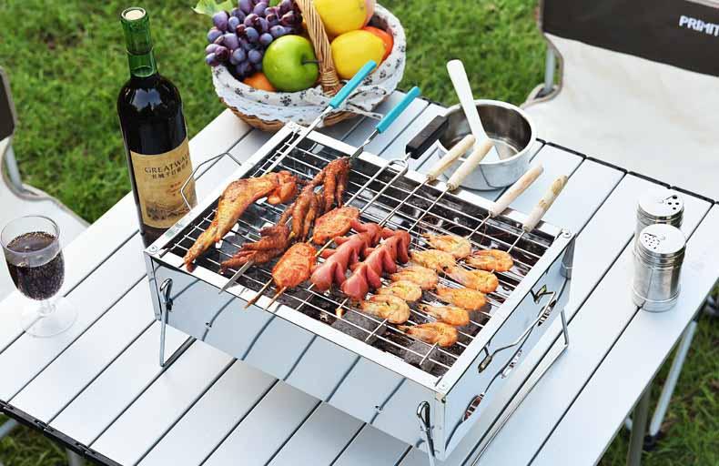 than nướng sạch không khói làm cho món ăn thêm hấp dẫn hơn